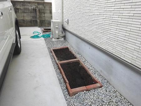 180222花壇完成