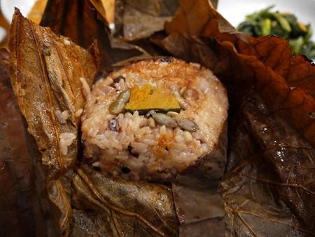 181115-19蓮の葉ご飯