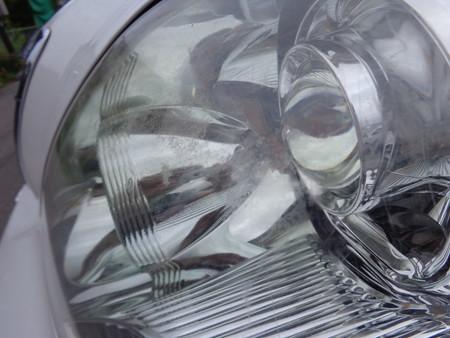 セルシオ ヘッドライト磨き前(4)
