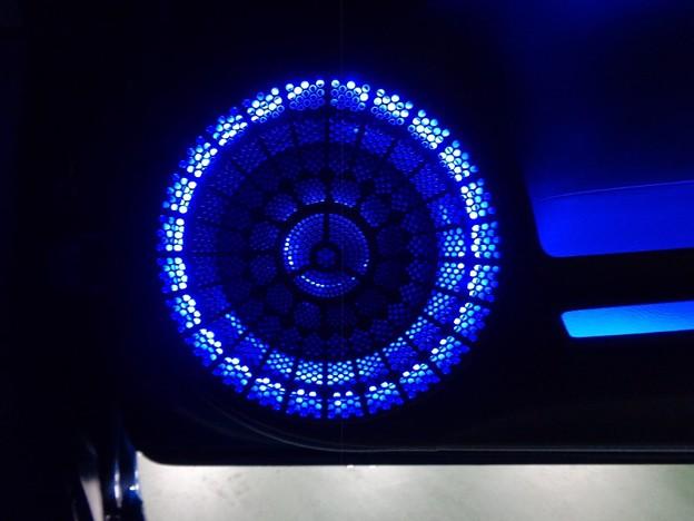 写真: シビックタイプR 群馬県 ドア間接照明取付 スピーカーグリル