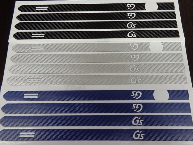 Photos: プリウス50 カーボンシート ドアハンドル G'sロゴ