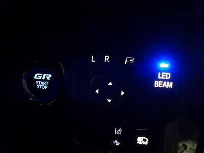 トヨタAQUA 神奈川県 LED打ち替え