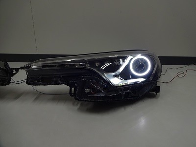 C−HR ヘッドライト加工 シーケンシャルウインカー・イカリング