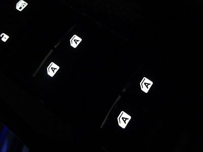 ハリアー 車内照明LED打ち替え