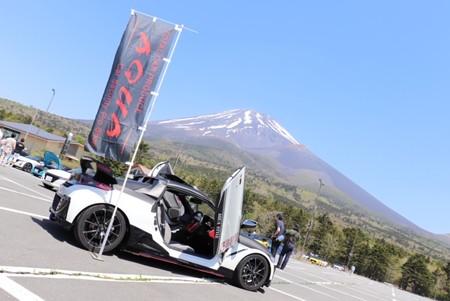 S660富士の麓でオフ会