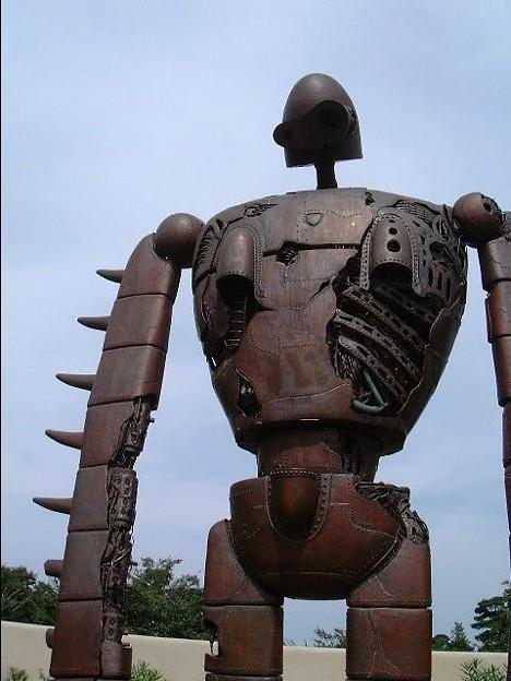 写真: ラピュタロボット兵(過去写真)