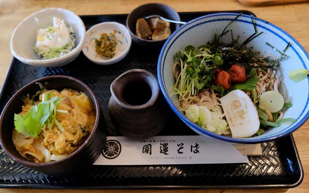 梅蕎麦セット