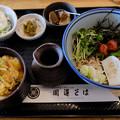 写真: 梅蕎麦セット