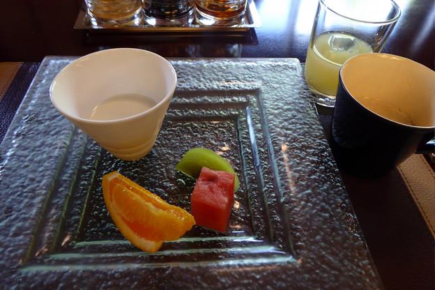Photos: 6デザートりんごジュースと珈琲も