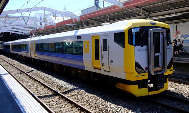 試運転の列車3