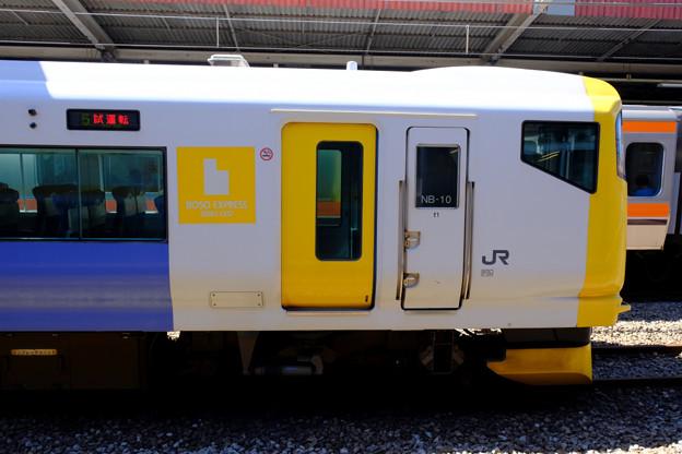 試運転の列車6