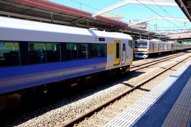 試運転の列車7