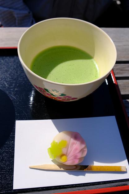 中島のお茶屋で