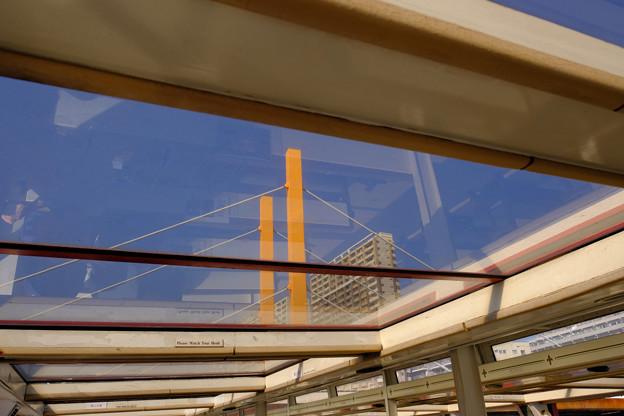 隅田川の橋9 新大橋を天井から