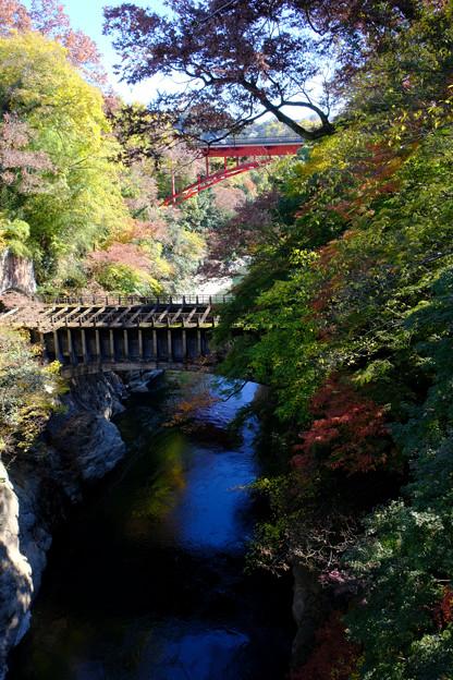 猿橋からの眺め1