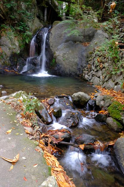 水神社近くの滝