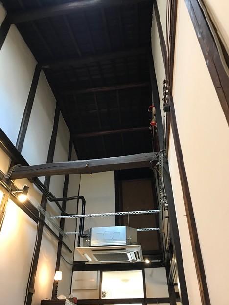 京町屋は天井が高い