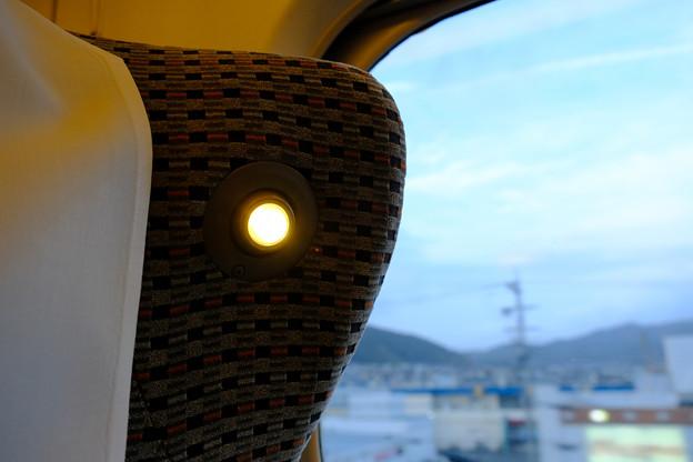 シートのライト