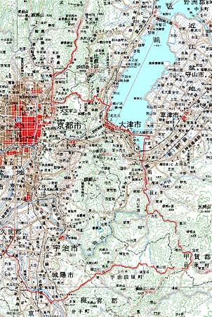 20071118山中越・宇治田原チャリトレ