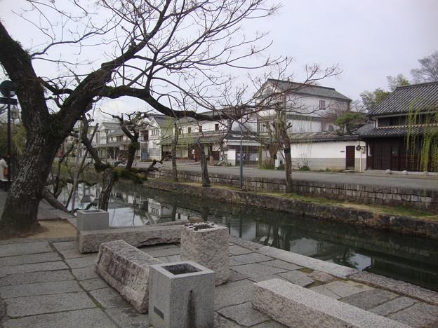 倉敷川と美観地区