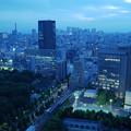 写真: ブルーモーメント~新宿方向