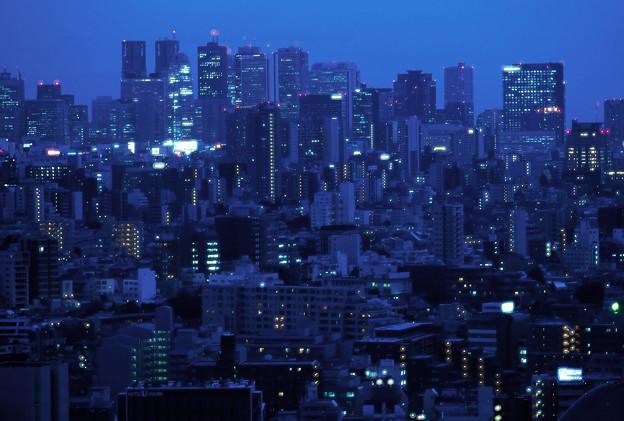 混沌都市夜景幻夢
