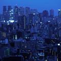 写真: 混沌都市夜景幻夢