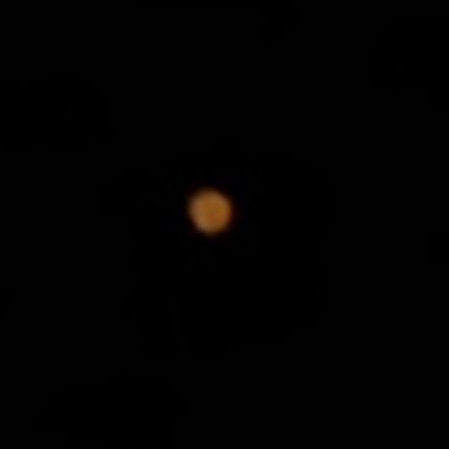 望遠レンズで火星2