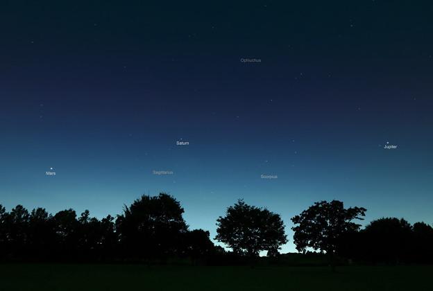 火星、土星、木星…