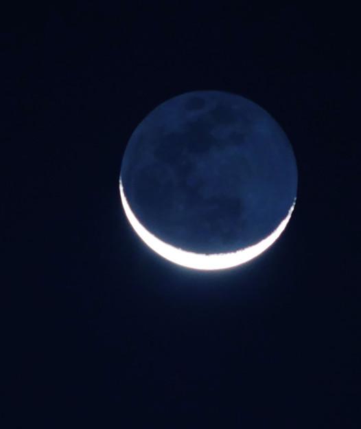 月齢27、地球照