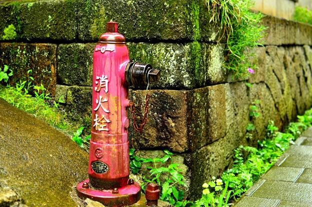 レトロ消火栓