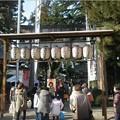 写真: 中津川の十日えびす大祭