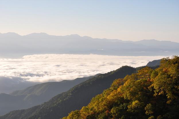 写真: '18秋旅 最終日3 雲上人になりました