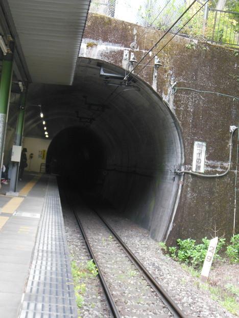 霧降高原・龍王峡11 ホームは半ばトンネルの中