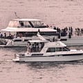 写真: マニラ湾の船舶