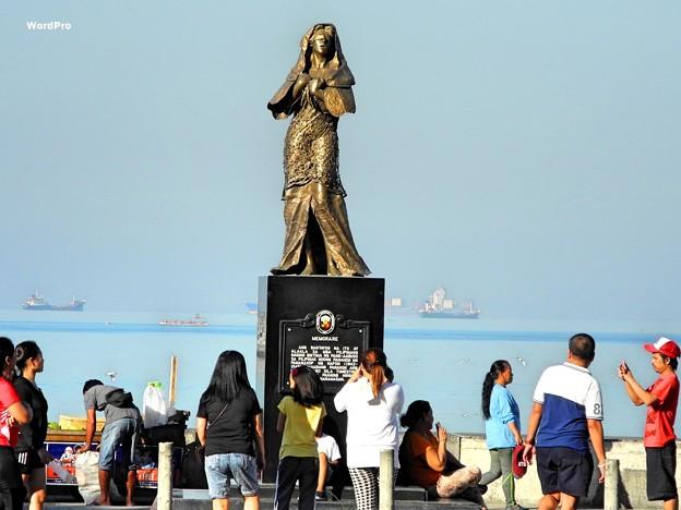 マニラ湾今日の慰安婦