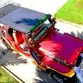 写真: マニラの車両
