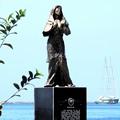 写真: マニラ湾今日の慰安婦とグリーンピース