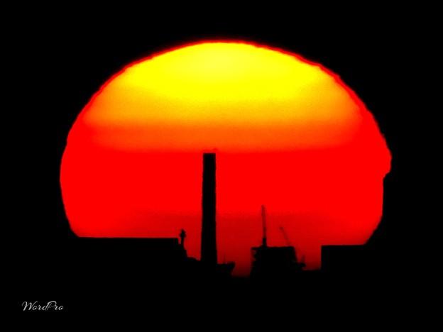 バターン、マリベレスの夕陽