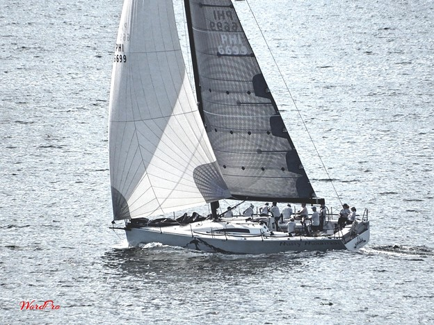 マニラ湾の船舶