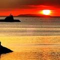 マニラ湾今日の夕陽 「ヤクルトにブドウ糖あり砂糖あり」