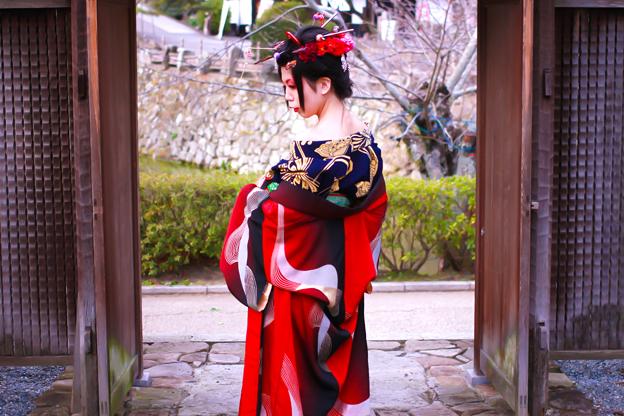 Photos: 格子戸