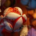 写真: むかい庵のつるし飾り
