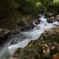写真: 出合滝の片割れ