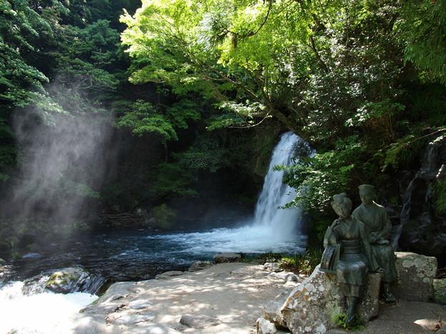 初景滝の「踊り子と私」