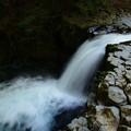 写真: へび滝の流れ
