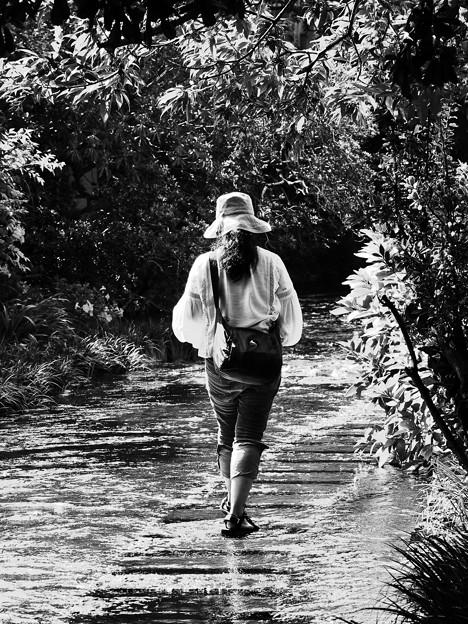 歩む先は水没中…