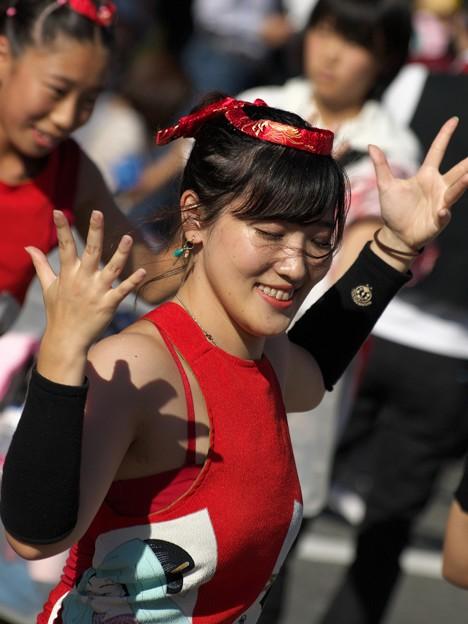 繋がるサンバパレードの舞