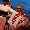 黄昏時の阿波踊り
