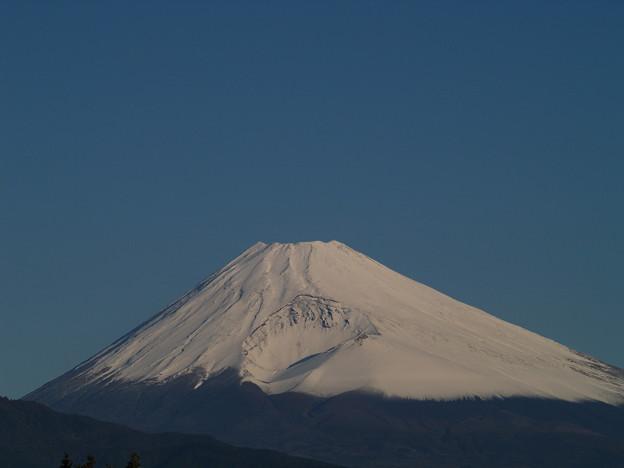 雪化粧した富士のお山